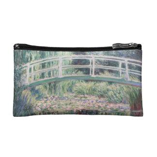 モネの睡蓮ポケット //Pocket Monet Lily Toilets Makeup Bag