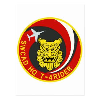 ライダ del 航空自衛隊南西航空団司令部飛行隊 T-4 - パッチ Tarjetas Postales