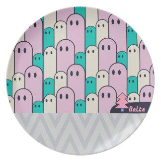 不思議な生き物Delta01typeC-01 お皿 Plate