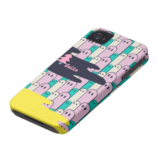 不思議な生き物Delta01typeC-mini yellow iPhone 4 Cover