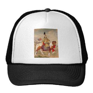 乾隆帝 del emperador de Qianlong de China en armadura Gorros Bordados