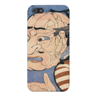 人でできた顔, 国芳 Face Made of Peoples, Kuniyoshi, Ukiyoe Cover For iPhone SE/5/5s