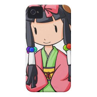 伏 English story Nanso Chiba Yuru-chara iPhone 4 Case-Mate Case