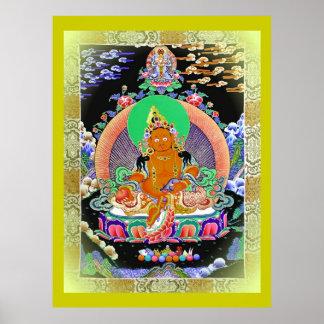 傳承黃財神 Lineage Yellow Jambhala Poster