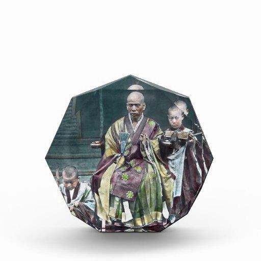 僧 japonés de Japón de los monjes budistas del vint