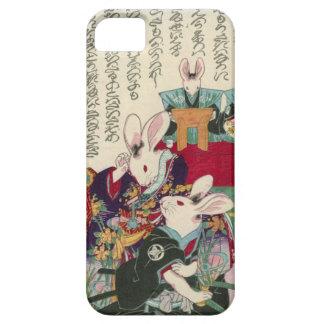 兎の歌舞伎役者, 芳藤 Actors of Rabbit, Yoshifuji, Ukiyo-e iPhone 5 Cases