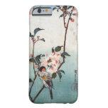 八重桜に鳥, flor de cerezo y pájaro, Hiroshige, Ukiyoe