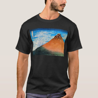 凱風快晴(赤富士), 北斎 Red Mount Fuji, Hokusai, Ukiyo-e T-Shirt