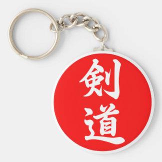 剑道 del kendo llavero redondo tipo pin