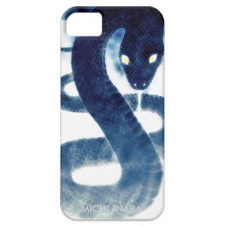 勝利蛇 SYOURIJYA.Blue snake. iPhone SE/5/5s Case