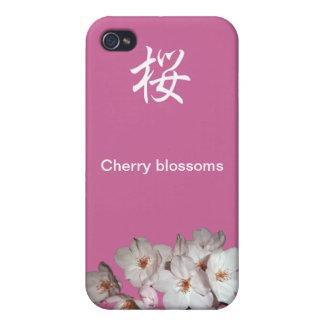 募金用 Cherry blossoms 桜 Cover For iPhone 4