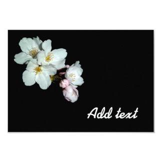 "募金用, flores de cerezo, 桜 invitación 3.5"" x 5"""
