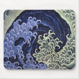 北斎の波, 北斎 Hokusai Wave, Hokusai Mouse Pad