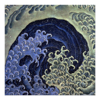北斎の波, onda de Hokusai del 北斎, Hokusai Impresiones