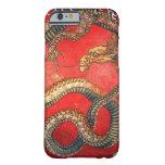 北斎の龍, dragón de Hokusai del 北斎, Hokusai, arte de Funda De iPhone 6 Barely There