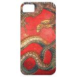 北斎の龍, dragón de Hokusai del 北斎, Hokusai, arte de Funda Para iPhone SE/5/5s