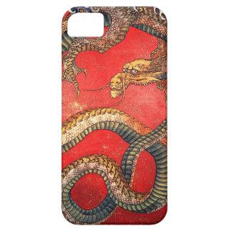 北斎の龍, dragón de Hokusai del 北斎, Hokusai, arte de J iPhone 5 Carcasa