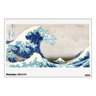 北斎 Great Wave Off Kanagawa Hokusai Fine Art Wall Sticker