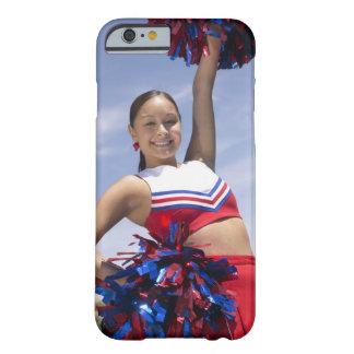 十代のチアリーダーの保有物の肖像画 FUNDA DE iPhone 6 BARELY THERE