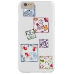 【和柄四角枠(カラフル)】Japanese pattern in Square(colorful) Funda Para iPhone 6 Plus Barely There