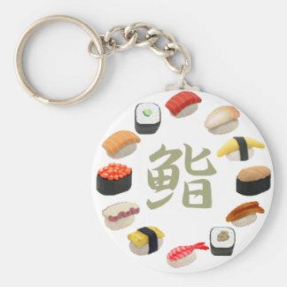 回転寿司 del kanji del sushi y de Susi Llaveros