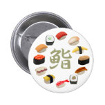 回転寿司 del sushi y del kanji pin
