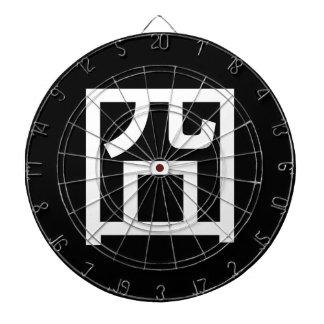 囧 Jiong Chinese Orz Asian Meme Hanzi Emoticon Dartboard