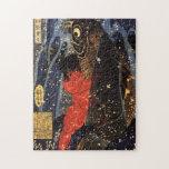 坂田金時と巨鯉, 国芳, Sakata Kintoki y carpa enorme, Kuniyo Puzzle