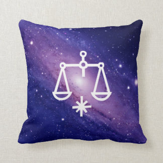 天秤座、Libra, Constellation(Zodiac) Throw Pillow