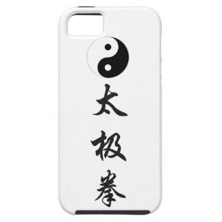 太極拳 vertical (2).png de Chuan de la ji de Yin Yang iPhone 5 Case-Mate Coberturas