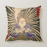 奇術師, 豊国 Magician, Toyokuni, Ukiyo-e Pillow