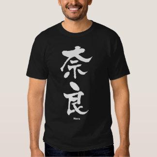 奈良, Nara, Japanese Kanji Tshirt