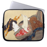 女, 国貞 Woman, Kunisada, Ukiyo-e Computer Sleeve
