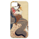 女, 国貞 Woman, Kunisada, Ukiyo-e iPhone 5 Case