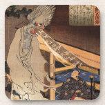 妖怪, 国芳 Japanese Zombie, Kuniyoshi, Ukiyo-e Drink Coasters