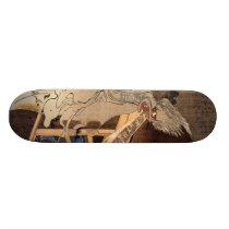 妖怪, 国芳 Japanese Zombie, Kuniyoshi, Ukiyo-e Skateboard Deck