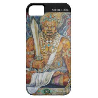 守護神赤 el Imperturbability del ROJO de la deidad del iPhone 5 Carcasas