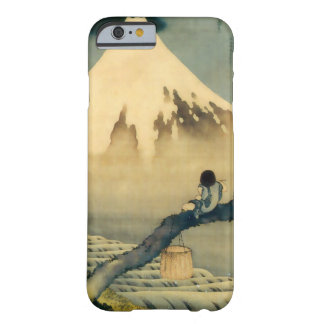 富士と少年, 北斎 el monte Fuji y muchacho, Hokusai, Funda De iPhone 6 Barely There