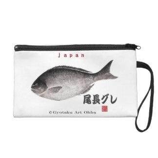 尾長グレ!JAPAN 魚拓 Gyotaku Wristlets