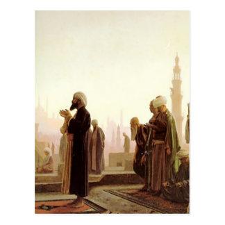 屋根の上で祈る人々 POSTALES