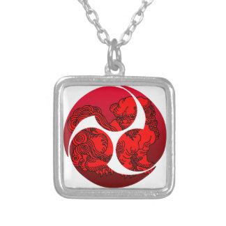 巴 Jishi Silver Plated Necklace