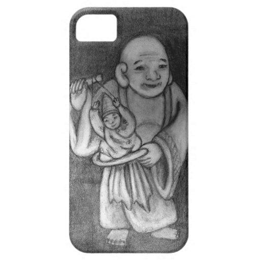 布袋 Hotei como titiritero iPhone 5 Cobertura