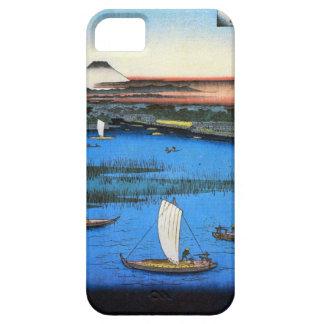 帆掛け舟と富士, 広重 Sailing Ship & Mt. Fuji, Hiroshige iPhone SE/5/5s Case