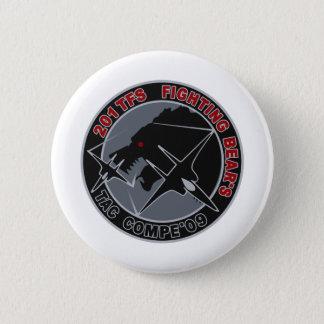 平成21年戦競第201飛行隊201TFSパッチ PINBACK BUTTON