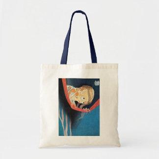 幽霊, 北斎 Ghost, Hokusai, Ukiyoe Tote Bag