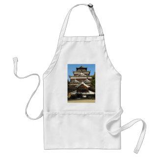 広島城 del castillo de Hiroshima, Hiroshima, Japón Delantal