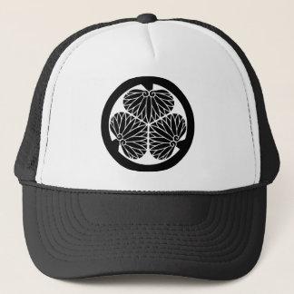 徳川 家紋, Tokugawa KAMON, Japanese Family Crest Trucker Hat