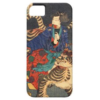 忍者と虎, 芳年 Ninja Hero & Tiger, Yoshitoshi, Ukiyo-e iPhone SE/5/5s Case