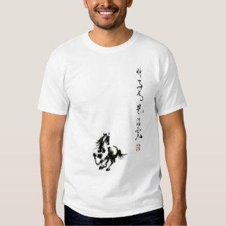 恤 flotante del 神马都是浮云 T de la camiseta de las Camisas