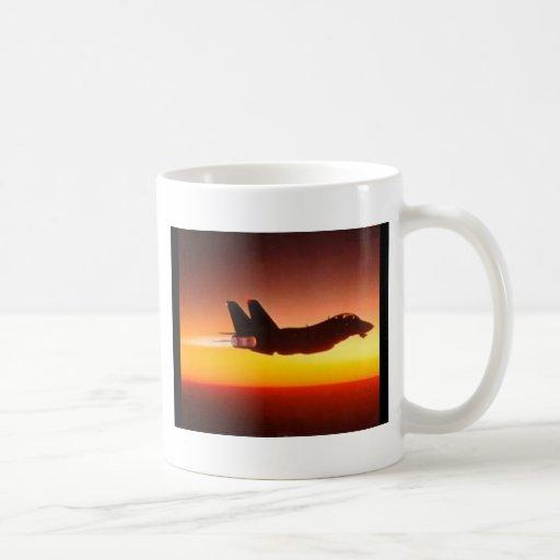 戦闘機 コーヒーマグ